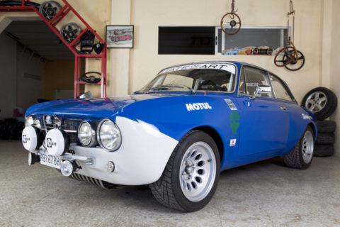 Race Preparation: Alfa GTAm Recreation