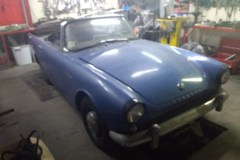 Pipeline: Project Sunbeam Alpine MkIII