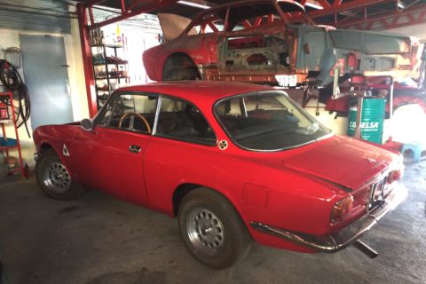 Pipeline: Coming Soon: 1968 Alfa Romeo 1750 GTV (Mk1)
